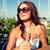 gelin · cam · şampanya · beyaz - stok fotoğraf © dolgachov