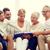 boldog · család · könyv · fényképalbum · otthon · család · boldogság - stock fotó © dolgachov