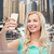 улыбаясь · смартфон · люди · туризма - Сток-фото © dolgachov