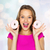 happy woman or teen girl with donuts stock photo © dolgachov