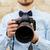 maschio · fotografo · fotocamera · digitale · persone · fotografia - foto d'archivio © dolgachov