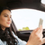 vrouw · rijden · auto · veiligheid · weg · reis - stockfoto © dolgachov