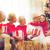 büyükanne · torun · Noel · açılış · hediyeler · birlikte - stok fotoğraf © dolgachov