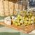 ワイングラス · ブドウ · 木製のテーブル · 食品 · 葉 · フルーツ - ストックフォト © dolgachov