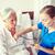 doktor · hemşire · kıdemli · kadın · hastane · tıp - stok fotoğraf © dolgachov