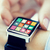 close up of hands setting smart watch application stock photo © dolgachov