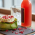şişe · limonata · cam · buz · tablo · içecekler - stok fotoğraf © dolgachov