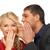 man and woman spreading gossip stock photo © dolgachov
