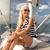 女性 · セーリング · 旅行 · クローズアップ · 肖像 - ストックフォト © dolgachov