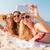 グループ · 笑みを浮かべて · 女性 · サングラス · ビーチ · 夏休み - ストックフォト © dolgachov