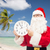 homme · costume · horloge · Noël · vacances - photo stock © dolgachov