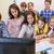 groep · kinderen · leraar · computer · school · onderwijs - stockfoto © dolgachov