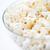 finom · pattogatott · kukorica · tál · fehér · egészség · háttér - stock fotó © dolgachov