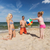 famille · heureuse · jouer · gonflable · balle · plage · famille - photo stock © dolgachov