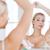 vrouw · deodorant · badkamer · schoonheid · hygiëne · ochtend - stockfoto © dolgachov