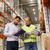 lavoratore · imprenditori · appunti · magazzino · persone - foto d'archivio © dolgachov