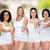 groep · gelukkig · verschillend · vrouwen · tonen - stockfoto © dolgachov