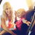 счастливым · матери · ребенка · автомобилей · сиденье · пояса - Сток-фото © dolgachov