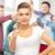 studentów · student · kobiet · nastolatków - zdjęcia stock © dolgachov
