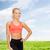 schönen · sportlich · Frau · Sportbekleidung · Fitness · Sport - stock foto © dolgachov