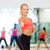 mosolyog · sportos · nő · okostelefon · sport · fitnessz - stock fotó © dolgachov