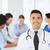 счастливым · врач · группа · больницу · медицина · здравоохранения - Сток-фото © dolgachov
