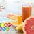 közelkép · narancs · kalóriák · vitaminok · egészséges · étkezés · étel - stock fotó © dolgachov
