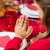 christian · enfant · prière · mains · enfants · enfants - photo stock © dolgachov