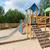 スライド · 遊び場 · 屋外 · 幼年 · オブジェクト - ストックフォト © dolgachov