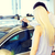 Pareja · compra · coche · auto · mostrar · salón - foto stock © dolgachov