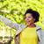 felice · african · american · estate · parco · persone - foto d'archivio © dolgachov