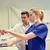 Стоматологи · Xray · контроля · стоматологических · клинике · люди - Сток-фото © dolgachov