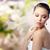 belle · femme · boucle · anneau · beauté · bijoux · personnes - photo stock © dolgachov
