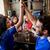 futball · szurkolók · barátok · sör · sport · bár - stock fotó © dolgachov