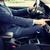 mão · volante · condução · carro · homem - foto stock © dolgachov