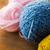 close up of knitting needles and yarn balls stock photo © dolgachov