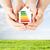 energiahatékonyság · illusztrált · diagram · fehér · otthon · narancs - stock fotó © dolgachov