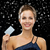 smiling woman in evening dress holding credit card stock photo © dolgachov