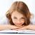 かなり · 少女 · 多くの · 図書 · 学校 · 教育 - ストックフォト © dolgachov