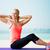 addominale · esercizio · fitness · club · donna - foto d'archivio © dolgachov