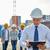 boldog · építők · építész · építkezés · üzlet · épület - stock fotó © dolgachov