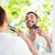 férfias · higiénia · portré · fiatalember · vicces · korcsolya - stock fotó © dolgachov