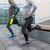 közelkép · pár · nyújtás · figyelmeztetés · fitnessz · sport - stock fotó © dolgachov
