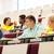 grupy · międzynarodowych · studentów · piśmie · wykład · edukacji - zdjęcia stock © dolgachov