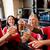 futball · szurkolók · sör · szemüveg · sport · bár - stock fotó © dolgachov