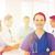 幸せ · 医師 · グループ · 病院 · クリニック · 職業 - ストックフォト © dolgachov