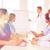grupo · feliz · médicos · seminario · hospital · profesión - foto stock © dolgachov