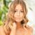 красивая · женщина · длинные · волосы · ярко · фотография · женщину · природы - Сток-фото © dolgachov