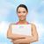 太り過ぎ · 女性 · 行使 · トレーナー · 女性 · 健康 - ストックフォト © dolgachov
