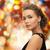 mosolygó · nő · estélyi · ruha · visel · fülbevalók · emberek · ünnepek - stock fotó © dolgachov